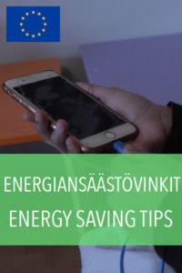 energiansäästövinkit