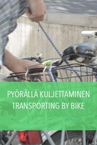 Pyörällä kuljettaminen