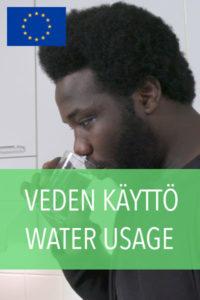 veden käyttö
